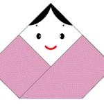 つるし雛の作り方★折り紙で簡単!手作りのおひなさま