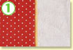 入園準備☆ランチョンマットの作り方【2】リバーシブルのランチョンマット