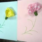 母の日は手作りカードを送ろう!簡単で可愛い立体カードの作り方