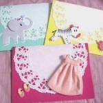 出産祝いに手作りカードを送ろう!簡単で可愛いカードの作り方【1】