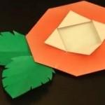 父の日のプレゼントに、折り紙で簡単なお花を手作りしよう!