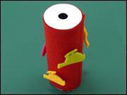 小学生の夏休み自由研究向け工作★トイレットペーパーの芯を使った簡単工作の作り方