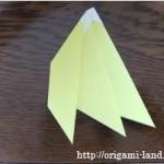 折り紙 フルーツの折り方(りんご、バナナ、ぶどう)