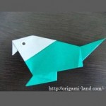 折り紙 小鳥・インコ・オウムの折り方