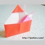 折り紙 色鉛筆(いろえんぴつ)の折り方