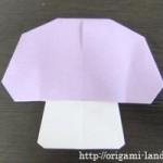 折り紙 きのこの折り方