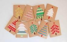 手作りクリスマスカードの作り方★簡単なのに可愛いデザイン集