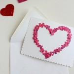 手作りバレンタインカードデザイン集★パンチやスタンプで簡単に可愛く仕上げるテクニックはコレ!