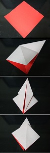 1折り紙1折り方1