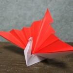 【お正月飾りの作り方】簡単!折り紙で作る鶴と門松