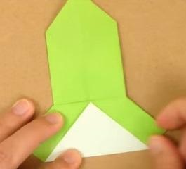 2折り紙1折り方10