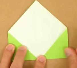 2折り紙1折り方4