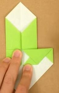 2折り紙1折り方7