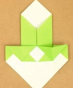 2折り紙1折り方8