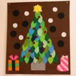 クリスマスツリーの作り方★フェルトで簡単手作り!