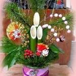 【手作りお正月飾り】門松の簡単な作り方決定版!場所がない方のミニ門松も★
