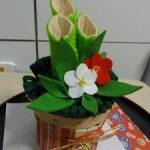 【手作りお正月飾り】フェルトで簡単!鏡餅&門松の作り方