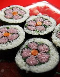 1巻き寿司1