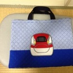 幼稚園の入園準備Vol,1 新幹線のアップリケ付★手作りバッグの作り方