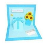 父の日手作りメッセージカード☆意外に簡単!ポップアップカードの作り方♪