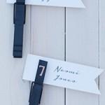 結婚式の席札☆100均の材料で簡単手作り、なのにこんなにスタイリッシュ!アイディアデザイン集♪