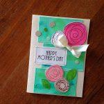 【母の日のメッセージカード】100均の材料で簡単に手作り!