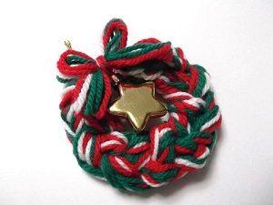 毛糸クリスマスカラー