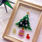 親子で簡単に楽しめるフォトフレームを使ったクリスマス工作アイディアpart2