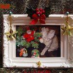 親子で簡単に楽しめるフォトフレームを使ったクリスマス工作アイディアpart1
