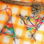 親子で簡単に楽しめる毛糸を使ったクリスマス工作アイディアpart1