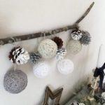親子で簡単に楽しめる毛糸を使ったクリスマス工作アイディアpart2