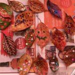 落ち葉を拾って秋冬は幼児とおうちで工作を楽しんでみよう!part5